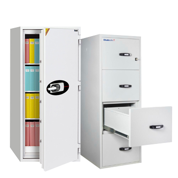 FIRE RATED FILE CABINETS + FIRE RATED DOCUMENT SAFES