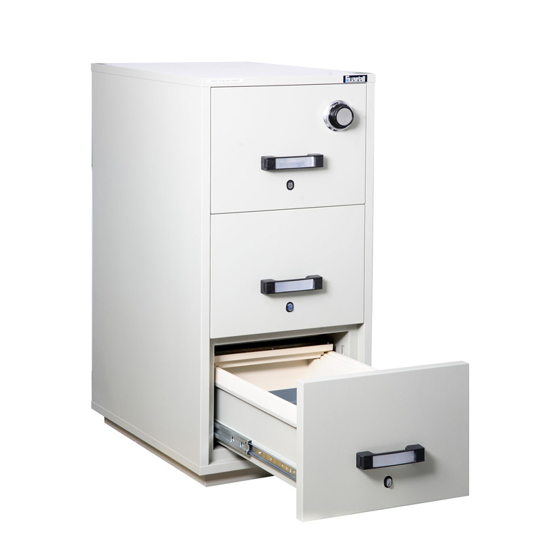 Attrayant 3 Drawer Fire Resistant File Cabinet