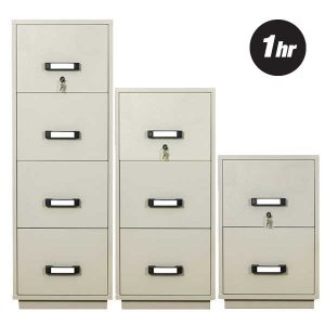 1 Hour Fire Rated Filing Cabinets