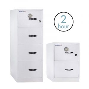Chubb Fire File 31 Two Hour Rated Filing Cabinets – Digital and Key Lock