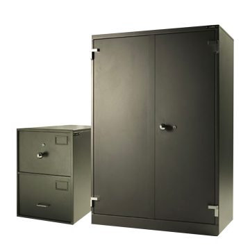 CLASS B & C CABINETS + KEY CABINETS, ENDORSED FOR THE HANDLING OF GOVERNMENT DOCUMENTS