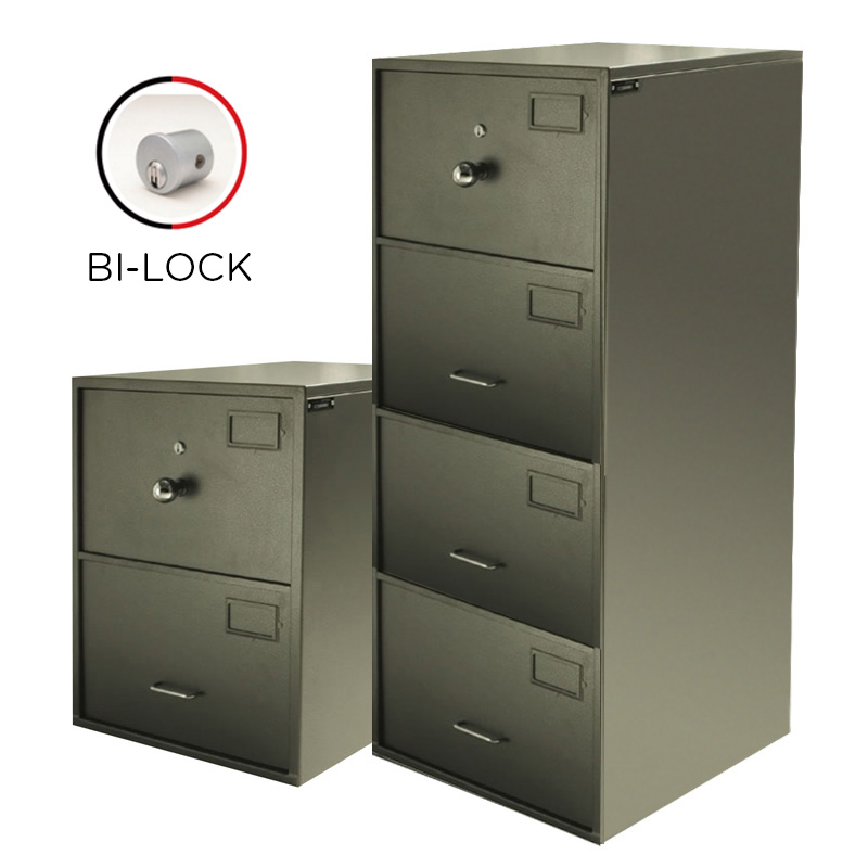 Govt Endorsed 2 and 4 Drawer Cabinet B-ilock