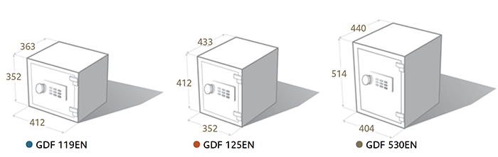 Dimensions of Home Security Safe